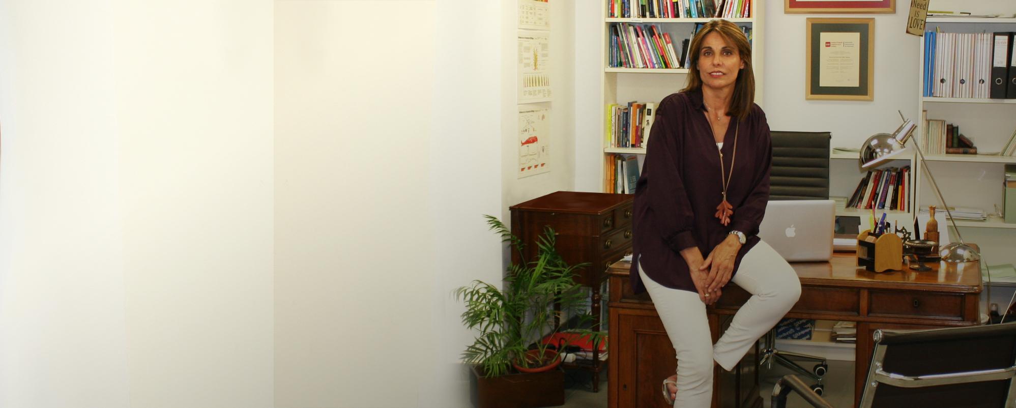 Cabecera Paloma en su consulta Matrimonio y Familia